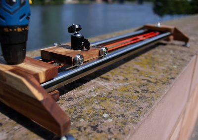 Camera Slider infront of River