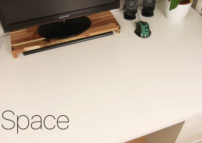 Space on your Desk