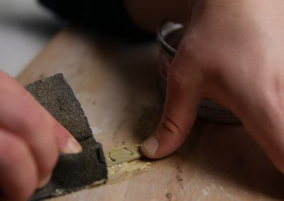 Use a sanding sponge for the surface-2