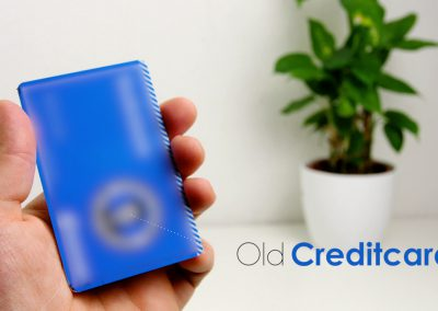 Use an old credit card